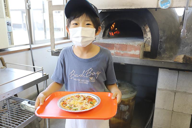 石窯ピザやアイスを作ろう!アグリパーク調理体験